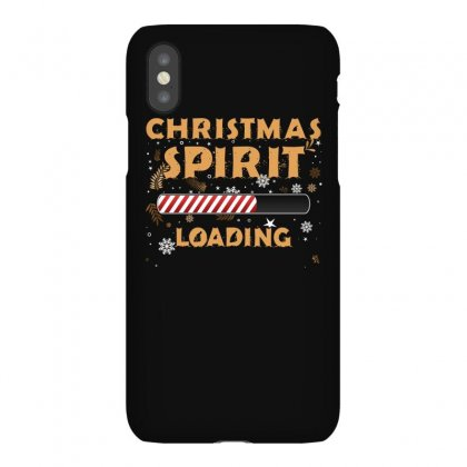 Christmas Spirit Loading Iphonex Case Designed By Sengul