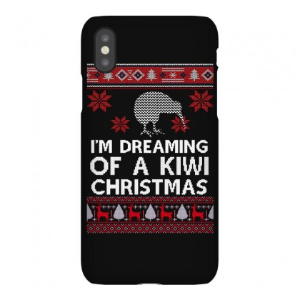 I'm Dreaming Of A Kiwi Christmas Iphonex Case Designed By Sengul