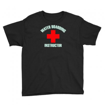 Water Boarding Instructor Youth Tee Designed By Erryshop