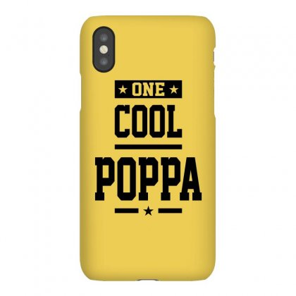One Cool Poppa - Grandpa Gift Iphonex Case Designed By Cidolopez