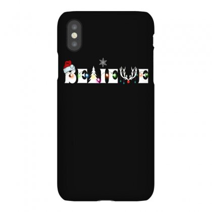 Believe For Dark Iphonex Case Designed By Gurkan