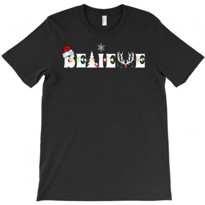 Believe For Dark T-shirt Designed By Gurkan
