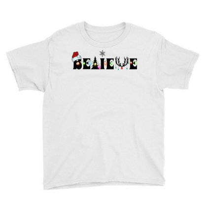 Believe For Light Youth Tee Designed By Gurkan