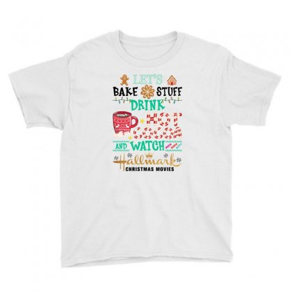 Christmas Bake Stuff For Light Youth Tee Designed By Gurkan