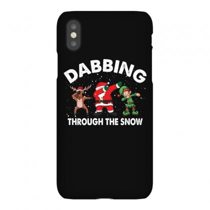 Dabbing Through The Snow For Dark Iphonex Case Designed By Gurkan