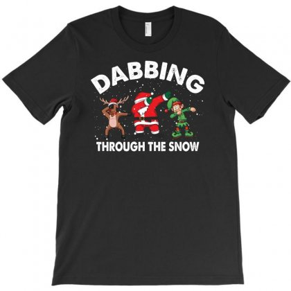 Dabbing Through The Snow For Dark T-shirt Designed By Gurkan