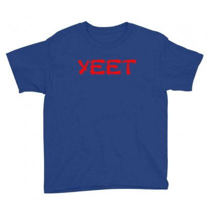 Asian Yeet Youth Tee Designed By Sr88