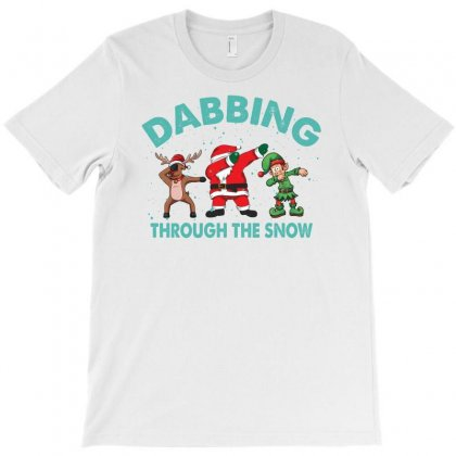 Dabbing Through The Snow For Light T-shirt Designed By Gurkan