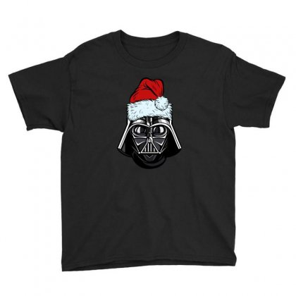 Darth Vader Christmas Youth Tee Designed By Gurkan