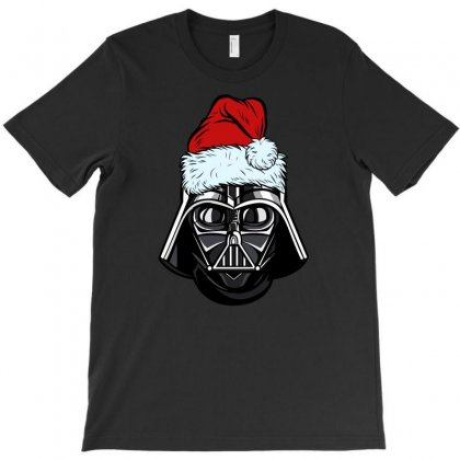 Darth Vader Christmas T-shirt Designed By Gurkan