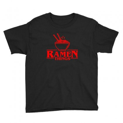 Ramen Things Youth Tee Designed By Sr88