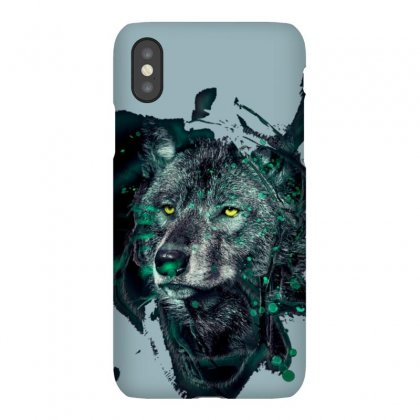 Wolf Iphonex Case Designed By Dcro12