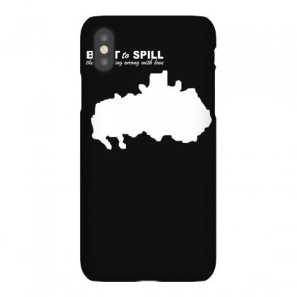 Theres Nothing Wrong With Love Built To Spill Iphonex Case Designed By Lyly