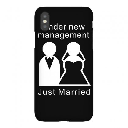 Under New Management   Just Married Iphonex Case Designed By Lyly