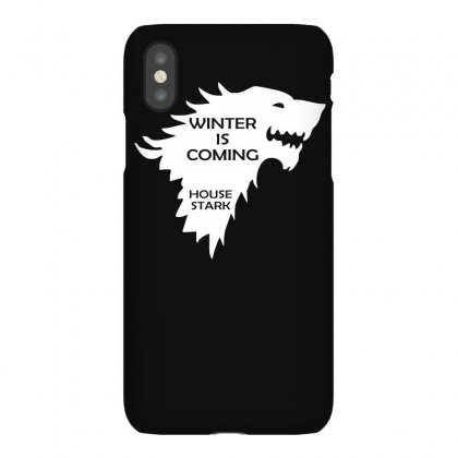 Winter Is Coming   House Stark Iphonex Case Designed By Lyly