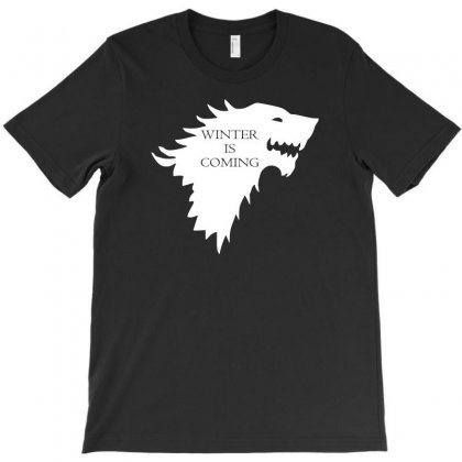 Winter Is Coming T-shirt Designed By Lyly