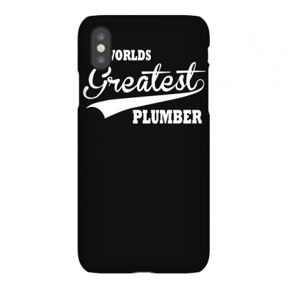 Worlds Greatest Plumber Iphonex Case Designed By Lyly