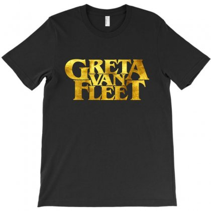 Greta Van Fleet In The Gold T-shirt Designed By Rodgergise