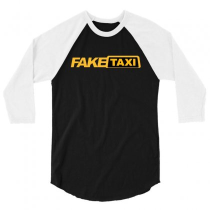 Faxe Taxi 3/4 Sleeve Shirt Designed By Rodgergise