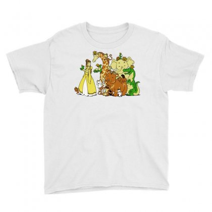 The Princess And The Menagerie Youth Tee Designed By Dameart
