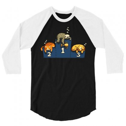The Pros 3/4 Sleeve Shirt Designed By Dameart
