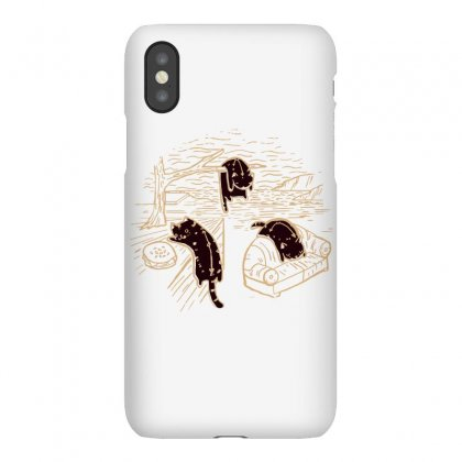 The Purrsistence Of Memory Iphonex Case Designed By Dameart