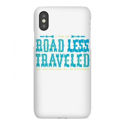 The Road Less Traveled Iphonex Case Designed By Dameart