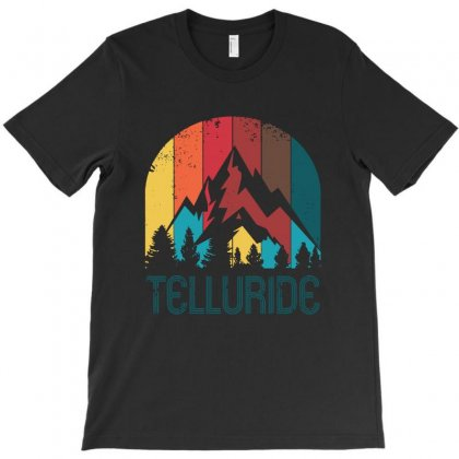 Retro City Of Telluride T-shirt Designed By Rodgergise