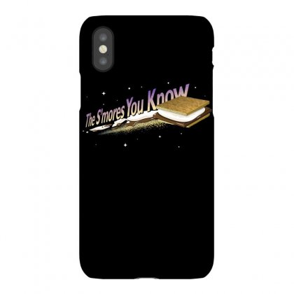 The S'mores You Know Iphonex Case Designed By Dameart
