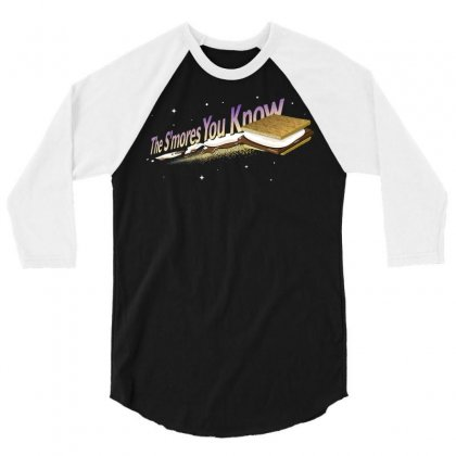 The S'mores You Know 3/4 Sleeve Shirt Designed By Dameart