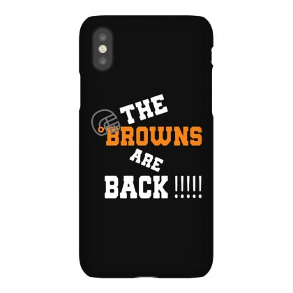 Rugby The Browns Are Back Iphonex Case Designed By Rodgergise