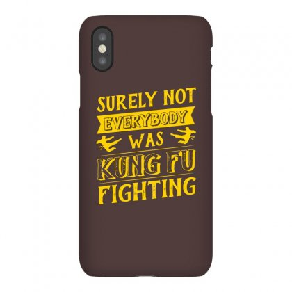 Surely Not Everybody Was Kung Fu Fighting Origin Iphonex Case Designed By Agnes Mond