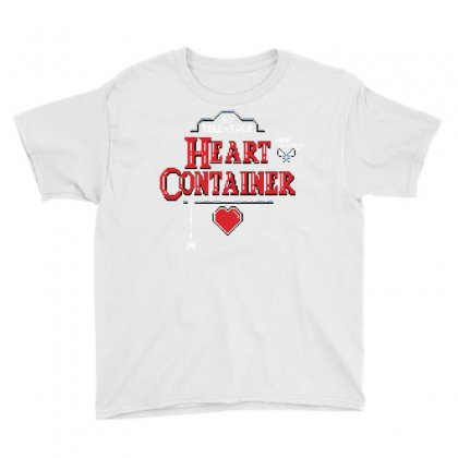The Tell Tale Heart Container Youth Tee Designed By Dameart