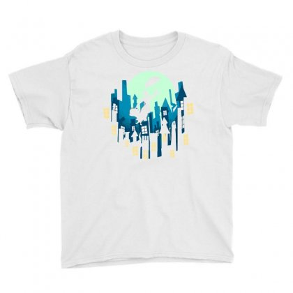 The Whole World At Your Feet Youth Tee Designed By Dameart