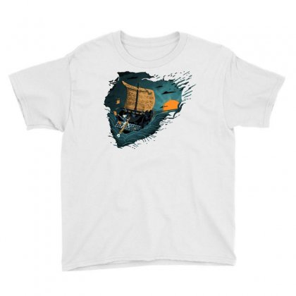 The Writer Youth Tee Designed By Dameart