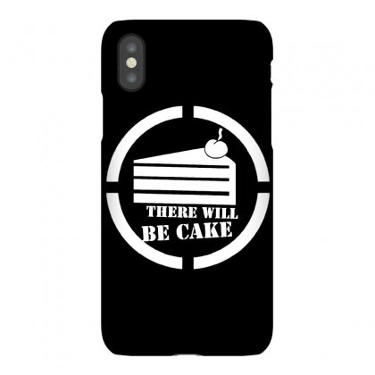 There Will Be Cake Iphonex Case Designed By Dameart