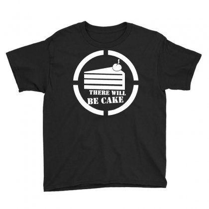 There Will Be Cake Youth Tee Designed By Dameart