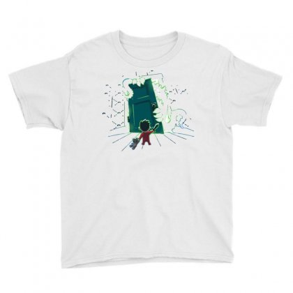 This Is My Room! Youth Tee Designed By Dameart