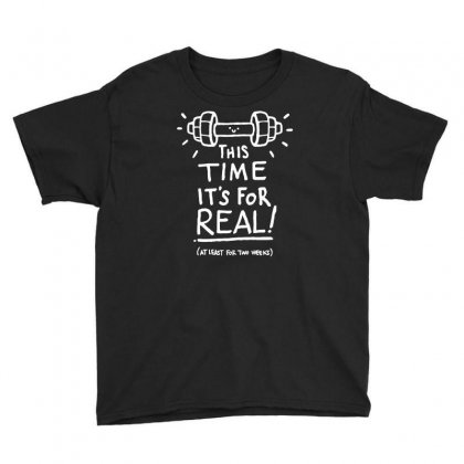 This Time It's For Real Youth Tee Designed By Dameart