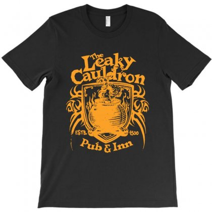 The Leaky Cauldron Pub And Inn T-shirt Designed By Rodgergise