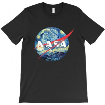 The Starry Nasa T-shirt Designed By Rodgergise