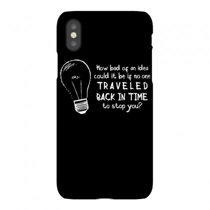 Time Travel Logic Iphonex Case Designed By Dameart