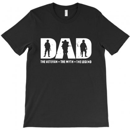 Veteran Dad The Man The Myth The Legend T-shirt Designed By Rodgergise