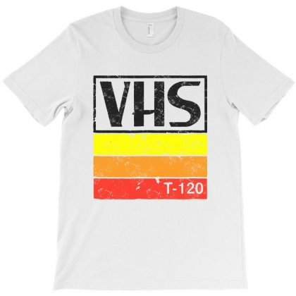 Vintage Vhs Tee T-shirt Designed By Rodgergise