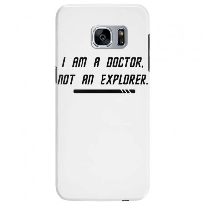 To Boldly Practice Medicine Samsung Galaxy S7 Edge Case Designed By Dameart