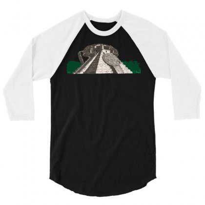 To Call The Gods 3/4 Sleeve Shirt Designed By Dameart