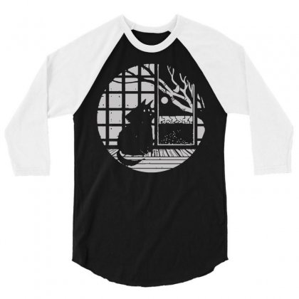 To Everything A Balance 3/4 Sleeve Shirt Designed By Dameart