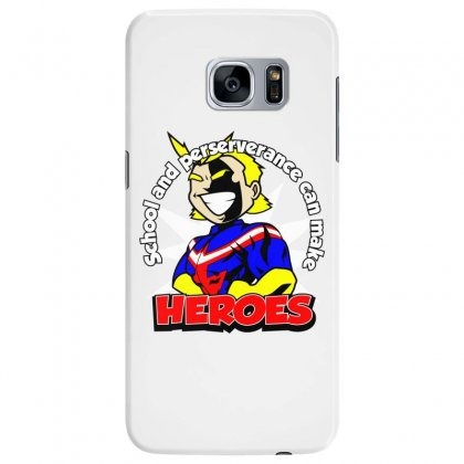 To Make A Hero Samsung Galaxy S7 Edge Case Designed By Dameart