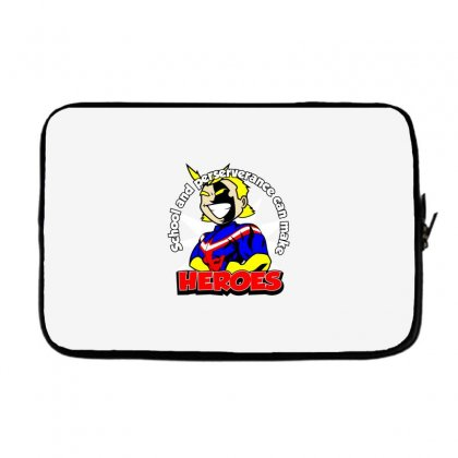 To Make A Hero Laptop Sleeve Designed By Dameart