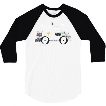To Serve And Correct 3/4 Sleeve Shirt Designed By Dameart